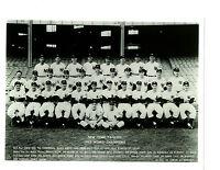 1952 NEW YORK YANKEES 8X10 TEAM PHOTO MANTLE MIZE BERRA  BASEBALL
