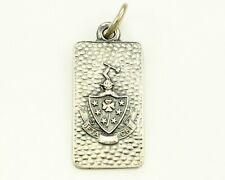 Vintage Sterling Silver BETA CHI SORORITY PENDANT 4.4 grams