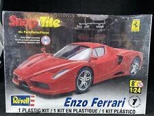 ENZO FERRARI SNAP TITE REVELL 1/24 PLASTIC MODEL KIT