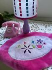 American Girl LAMP, RUG & PHONE Set from Just Like You WORKS! Retired