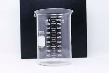 PYREX Glass 1000mL Griffin Heavy-Duty Beaker Graduated Dual Scale 1003-1L 1/PACK