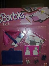 Barbie Shoes - Included With Finishing Touches 9 To 5 Gift Set By Mattel #2775