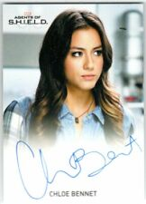 MARVEL: AGENTS OF SHIELD SEASON 2 CHLOE BENNET AS SKYE FULL BLEED AUTOGRAPH EL