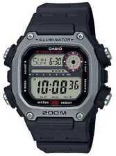 Casio   Collectie   Zwarte Rubberen Band   DW-291H-1AVEF Horloge
