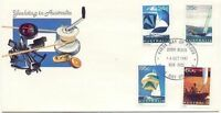 Australia 1981 YACHTS, YACHTING, Sailing (4) Very Fine Used on FDC SG 833-6