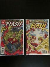 The Flash # 198 and 199  Blitz: Flash Vs Zoom- Geoff Johns  VF/NM DC Comics