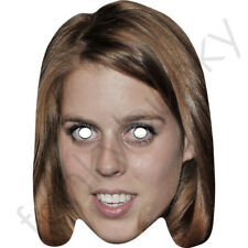 Princess Beatrice Royal Celebrity Card Face Mask - All Our Masks Are Pre-Cut!