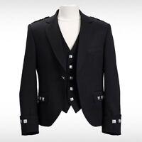 Brand New Boy's Scottish Argyle / Prince Charlie kilt Jacket & Waistcoat/Vest