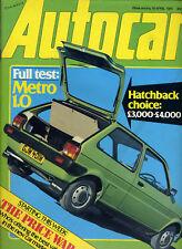 Autocar - 25th April 1981 Porche 924 / Carrera Princess 2.0HL Warwick