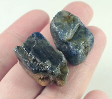 92.6Ct Natural Unheated Blue Sapphire Corundum Facet Rough Specimen YBG3448