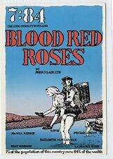BLOOD RED ROSES: Theatre Company postcard (C11987)