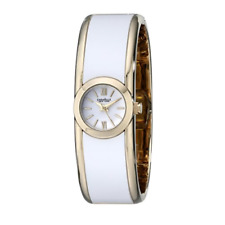 Caravelle By Bulova Womens Watch 44L144 Two-Tone Bangle Quartz White AU Stock