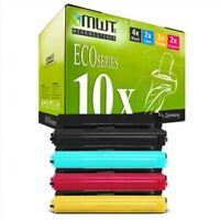 10x MWT Eco Cartucho Compatible para Brother HL-L-9310-CDW HL-L-9310-CDWT