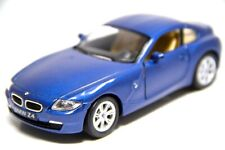"5"" Kinsmart BMW Z4 Coupe Hardtop Diecast Model Toy Car 1:32 Blue"