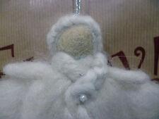 Felt Wool Angel Fairy Christmas Tree Home Hanging Decoration Fair Trade Gift