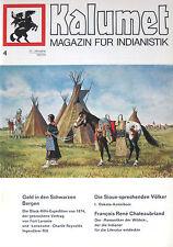 Kalumet 4/1973/74(Indianer/Indianistik/Karl May/Winnetou/Geschichte/Nordamerika)