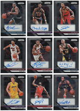 2018-19 Panini Prizm Signatures Auto Pick Any Complete Your Set