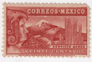 Mexico,Airmail,Scott#C76A,20c,MH,Wmk.Sria.Hda,MEPSI &APS Cert, Scott=$4500,shy