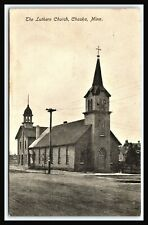 LUTHERN CHURCH OKASKA MINNESOTA Carver County, Card to plan visit AFTON, PM 1915