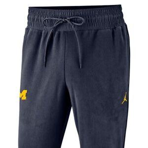 Jordan Brand University of Michigan Football Sphere Pants 036577XMC Navy Size L
