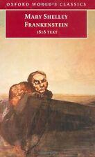 Frankenstein: or `The Modern Prometheus': The 1818 Text (Oxford .9780192833662