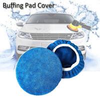 Tampon de polissage de cape polisseuse polisseuse pour voiture avec microfibre