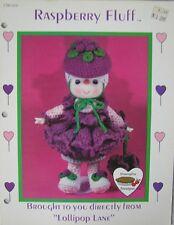 Dumplin Designs Lollipop Lane Raspberry Fluff Crochet Doll Pattern