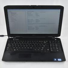 Dell Latitude E5530 Laptop Notebook Core i5-3340M 2.7GHz 4.0GB 320GB DVDRW No OS