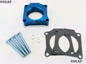 Blue Throttle Body Spacer Fit 00-04 Toyota Corolla Celica Matrix Vibe 1.8L DOHC