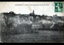 CLERMONT (60) VILLAS & EGLISE en 1913