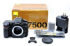 [MINT in BOX] Nikon D7500 20.9MP DSLR Body from JAPAN [Shutter Count 12719]