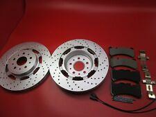 Maserati GranTurismo Gt front brake pads & rotors TopEuro #194