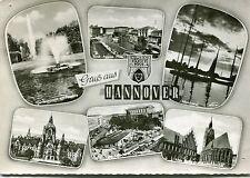 Alte Postkarte - Gruß aus Hannover