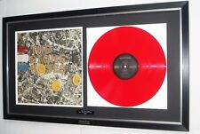 More details for the stone roses-original rare 'red' marble vinyl album-ian brown-oasis