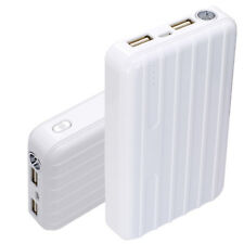 13000mAh White Power Bank iPad iPod Mobile Cell Phones MP3 MP4 MP5 Charger Pack