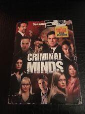 Criminal Minds: Seasons 1-4 (DVD) Over 65 Hours Sealed