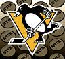 Pittsburgh Penguins Logo NHL Die Cut Vinyl Sticker Car Window Hood Bumper Decal