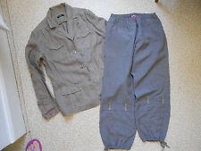 Ensemble veste et pantalon tailleur femme taille 38/40