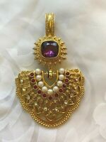 Vintage Elizabeth Taylor for Avon by Shaill Jhaveri Imperial Elegance Pendant