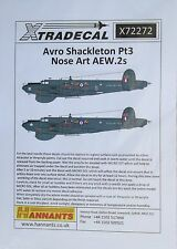 Xtradecal 1/72 X72272 Avro Shackleton Decal set pt 3 (Nose Art AEW.2's)