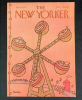 COVER ONLY ~ The New Yorker Magazine, July 25, 1977 ~ Robert Tallon