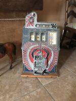 Antique Vintage Mills War Eagle Slot Machine Coin