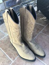 Old West Cowboy Boots 8.5 EE- Suede! Great!  Make an Offer!