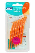 TePe Angled Interdental Brush Pack of 6 - Size 0.45mm Orange