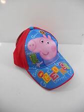 GEORGE DI PEPPA PIG CAPPELLO 50/52 CM CON VISIERA