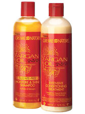 Creme Of Nature Sulfat Frei Shampoo & Intensive Klimaanlage behandeln. 341ml SET