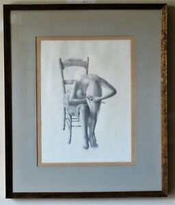 Michael Martin pencil drawing of a young woman