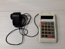 Old calculator Electronics Made in USSR Soviet Union USSR white 1976