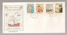 1st Day Cover/JAMAICA/Columbus Quincentenary/1989