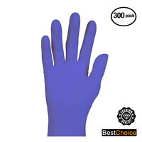Nitrile Cobalt Powder Free Gloves - Textured, Ambidextrous, Box of 300 -LuxoCare